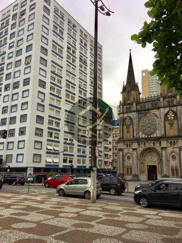 Apartamento, código 64148623 em Santos, bairro Aparecida