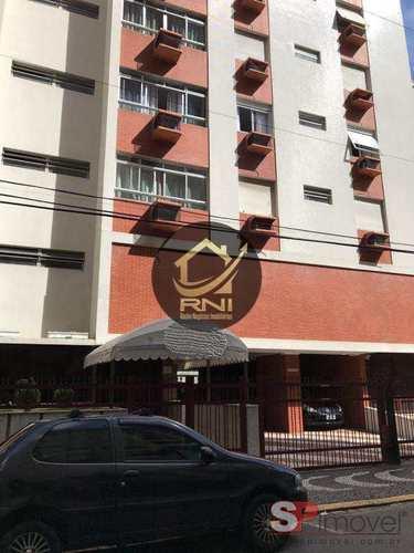 Apartamento, código 63738090 em Santos, bairro Pompéia