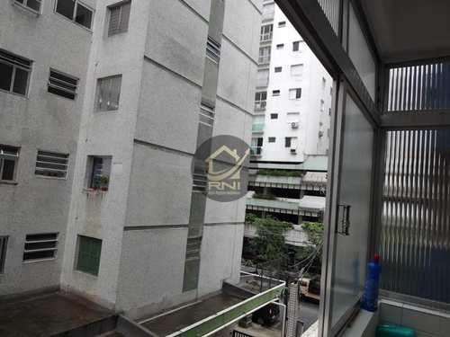 Apartamento, código 63682681 em Santos, bairro Ponta da Praia