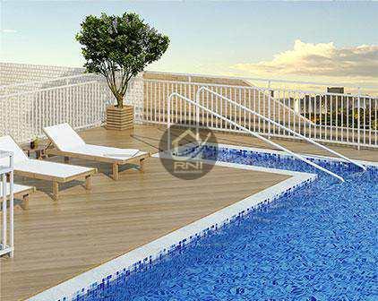 Apartamento, código 63500507 em Santos, bairro Macuco