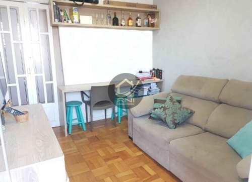 Apartamento, código 61413539 em Santos, bairro Boqueirão