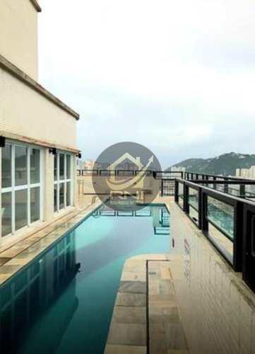 Apartamento, código 61375600 em Santos, bairro Gonzaga