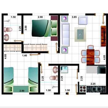 Apartamento em Bertioga, bairro Maitinga