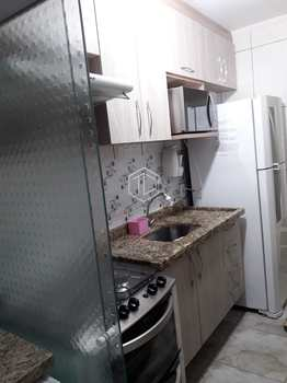 Apartamento, código 24 em Mauá, bairro Parque São Vicente