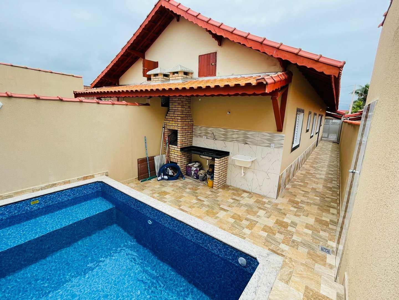 Casas novas em Mongaguá Pertinho do Mar -Mongaguá