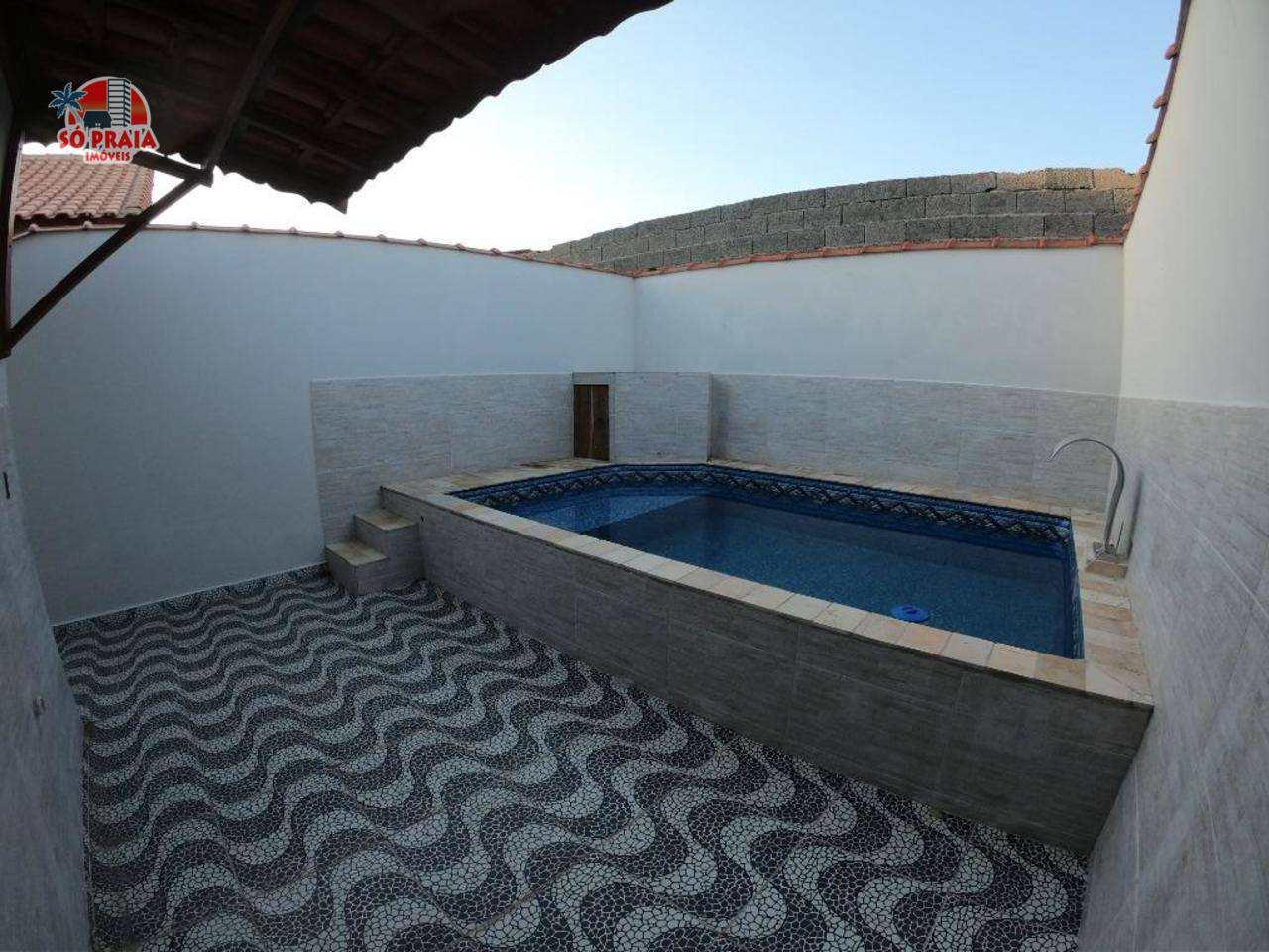 Casa com 2 dorms, Jussara, Mongaguá - R$ 285 mil, Cod: 279344