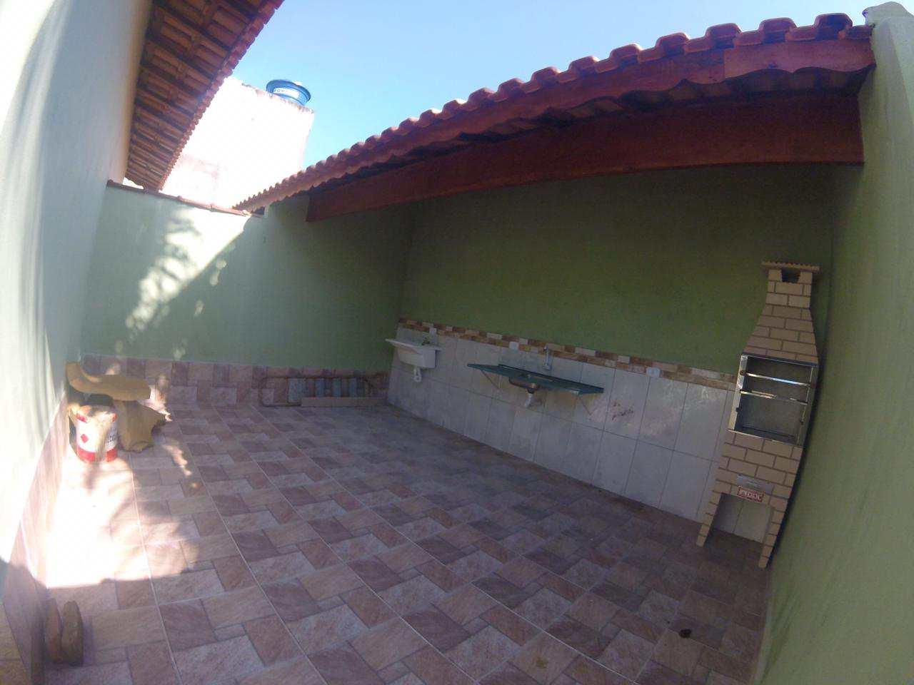 Casa com 2 dorms, Balneário Plataforma, Mongaguá - R$ 190 mil, Cod: 279355