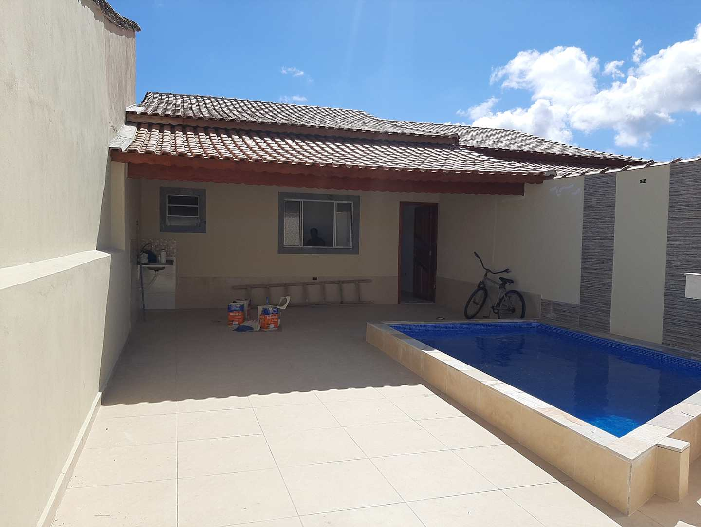 Casa com 2 dorms, Jardim Aguapeu, Mongaguá - R$ 315 mil, Cod: 279374