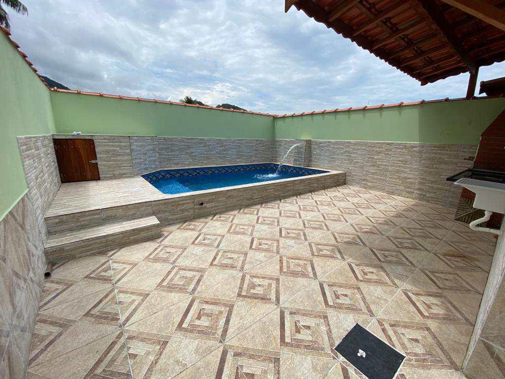 Casa com 2 dorms, Pedreira, Mongaguá - R$ 295 mil, Cod: 279381