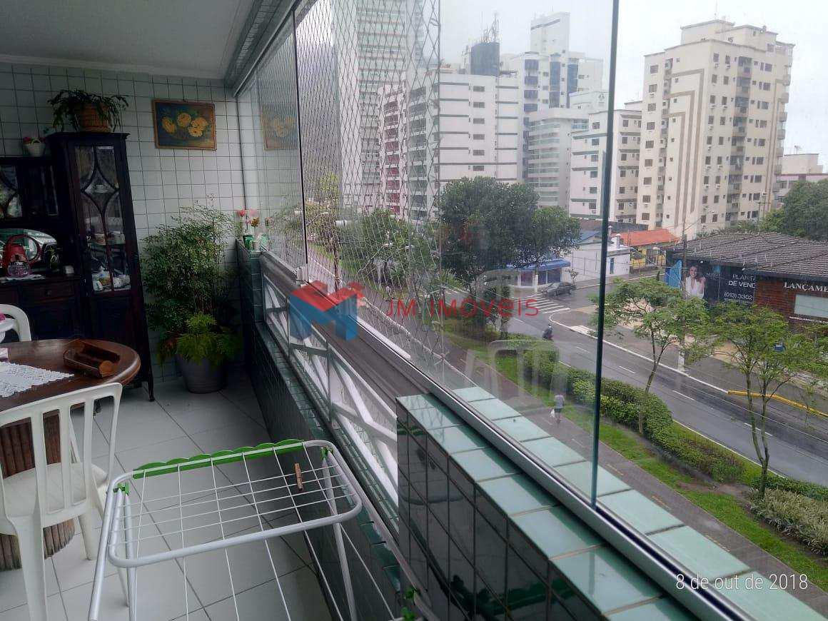 Apartamento Canto do Forte 02 Dormitório/Suite e Sacada 110m².