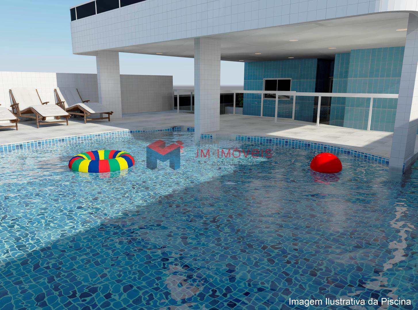Apartamento com 2 dorms, Caiçara, Praia Grande - R$ 345.000,00, 74,75m² - Codigo: 413509