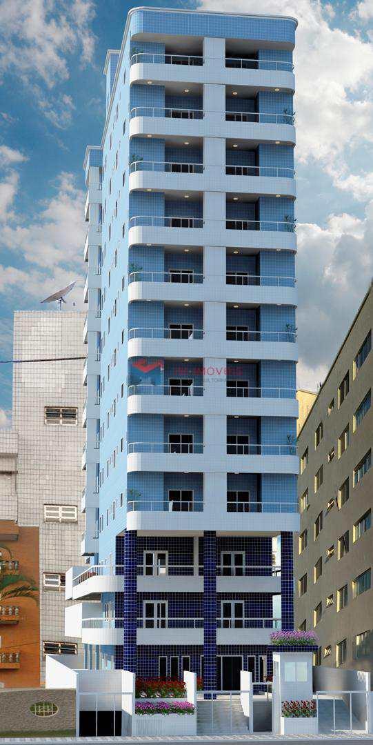 Apartamento com 2 dorms, Caiçara, Praia Grande - R$ 382.430,00, 74,75m² - Codigo: 413515