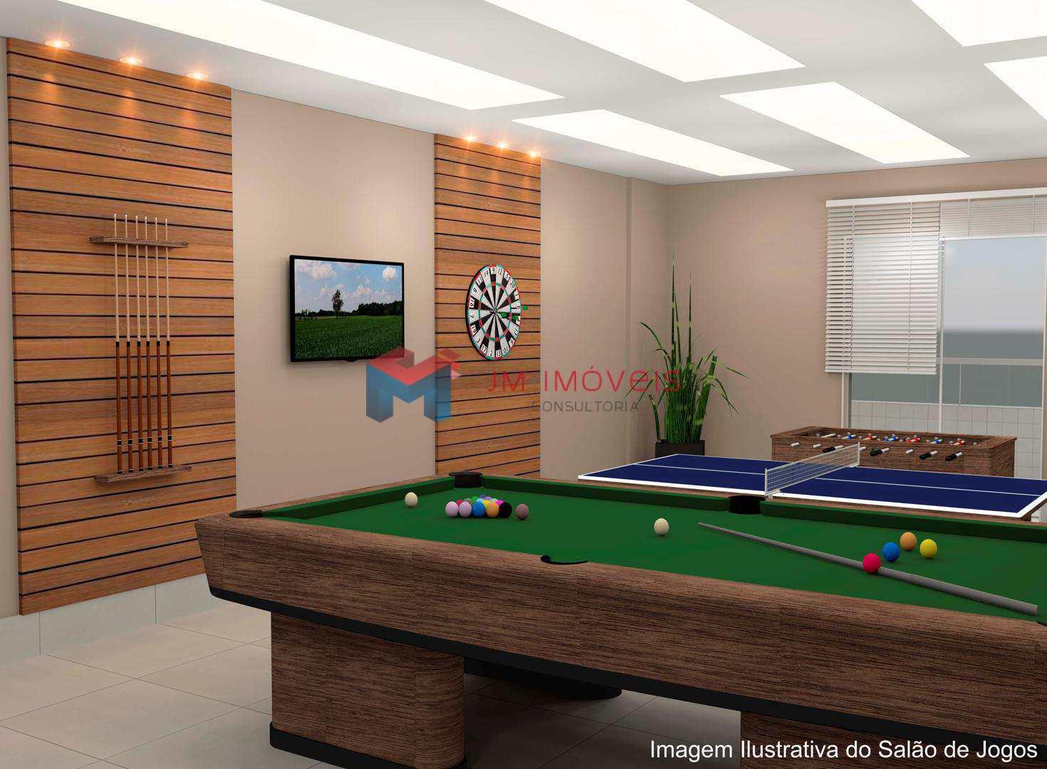 Apartamento com 1 dorm, Caiçara, Praia Grande - R$ 232.510,00, 46,3m² - Codigo: 413575