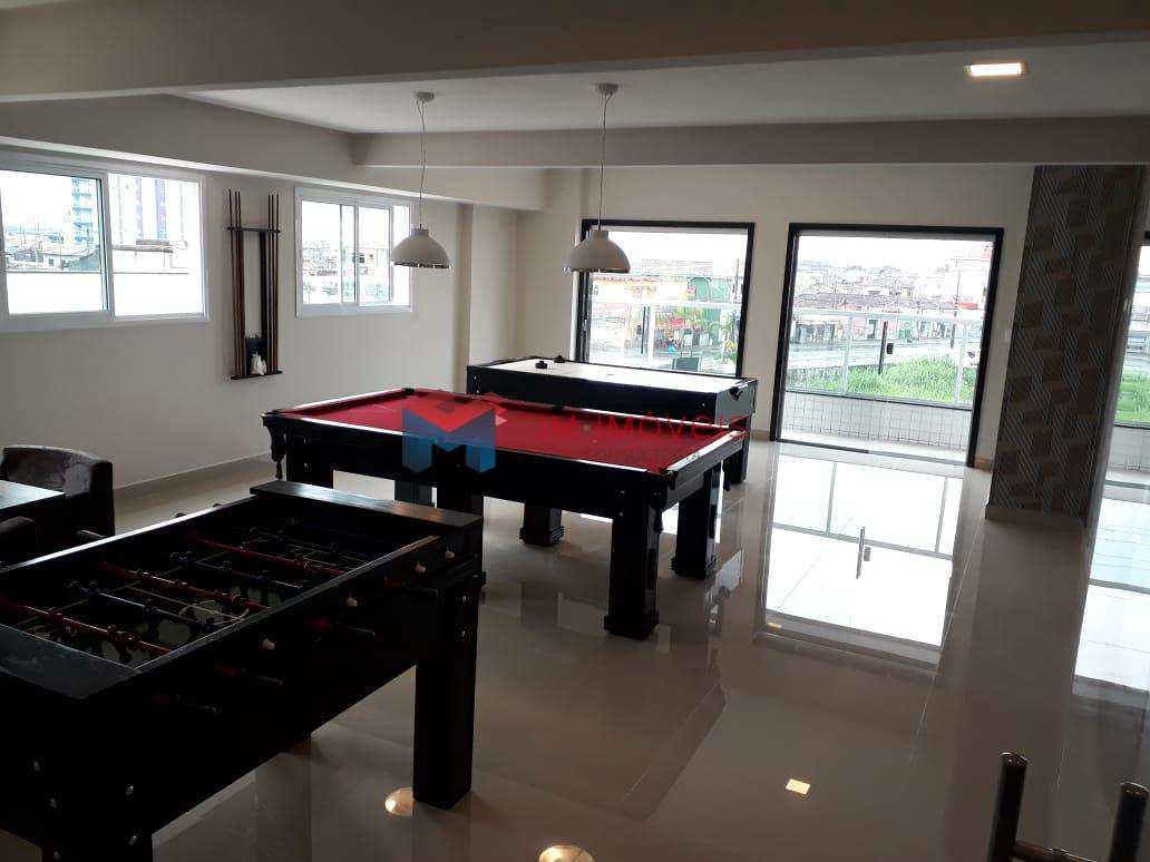 Apartamento com 3 dorms, Caiçara, Praia Grande - R$ 490 mil, Cod: 414356