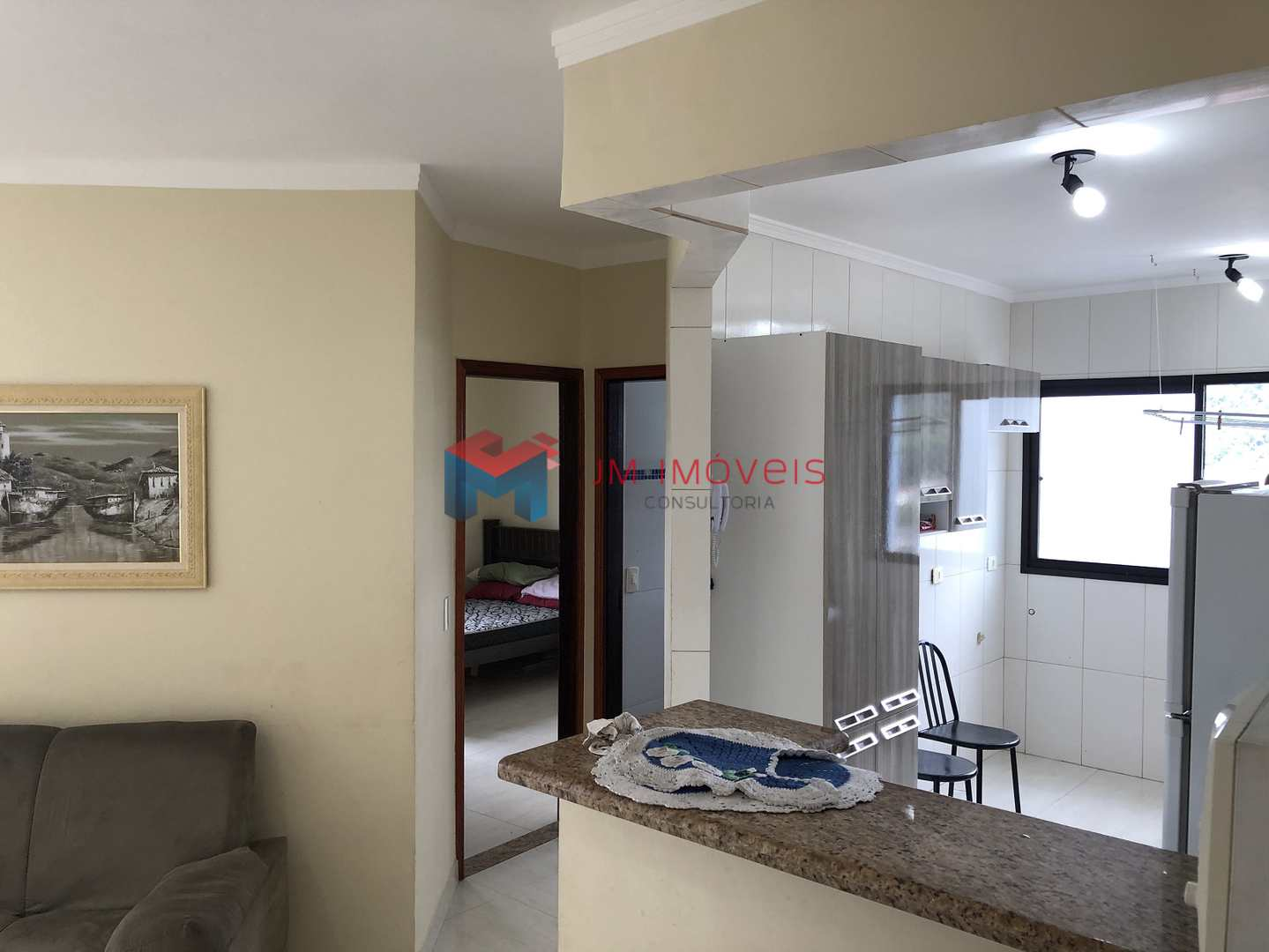 Apartamento com 1 dorm, Canto do Forte, Praia Grande - R$ 170 mil, Cod: 414469