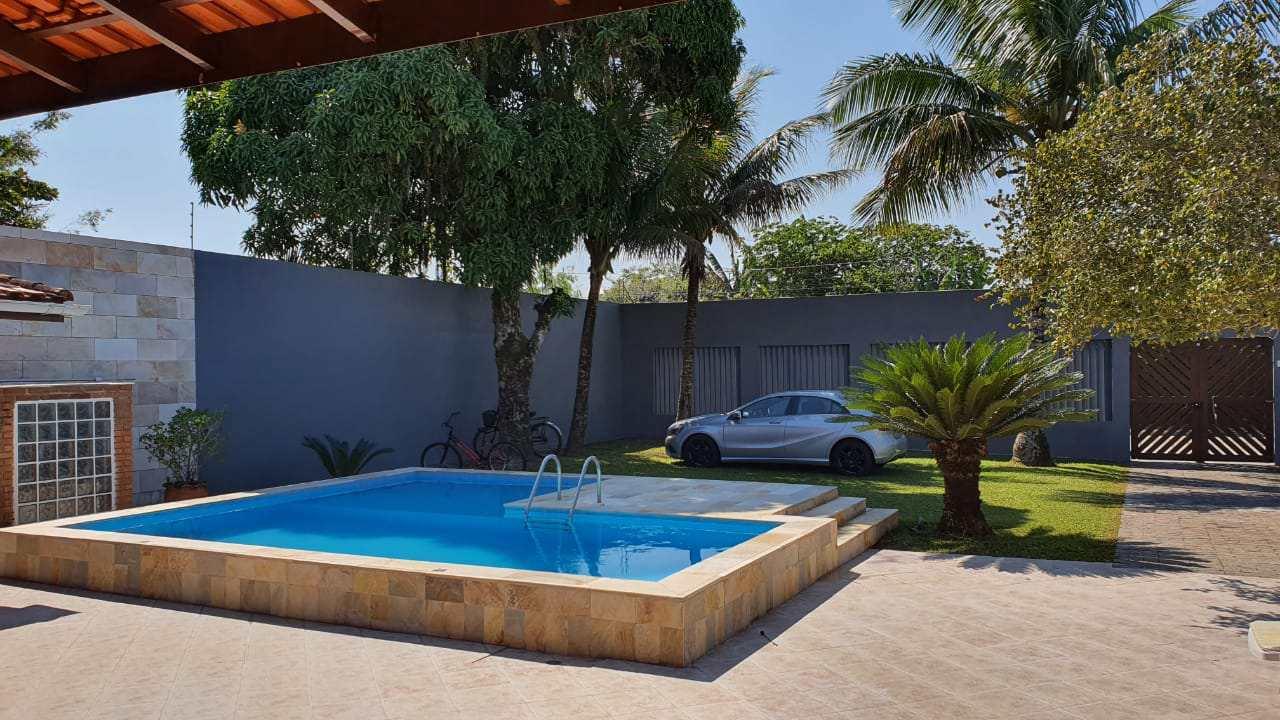 Casa com 4 dorms, Cibratel I, Itanhaém - R$ 1.1 mi, Cod: 4595