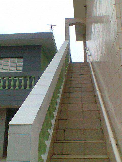 escadaria área de serviço