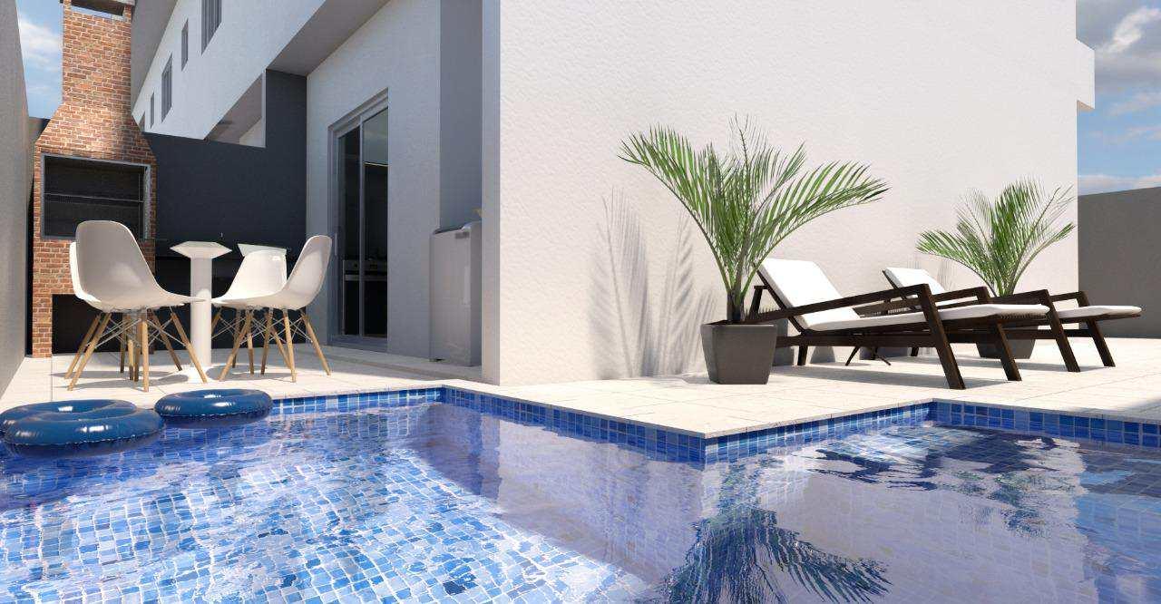 Sobrado de Condomínio com 2 dorms, Cibratel II, Itanhaém - R$ 179 mil, Cod: 4891