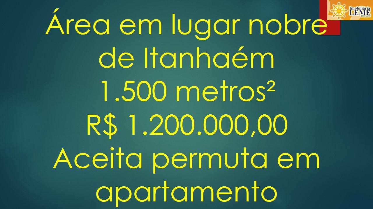 Área, Suarão, Itanhaém - R$ 1.2 mi, Cod: 4984