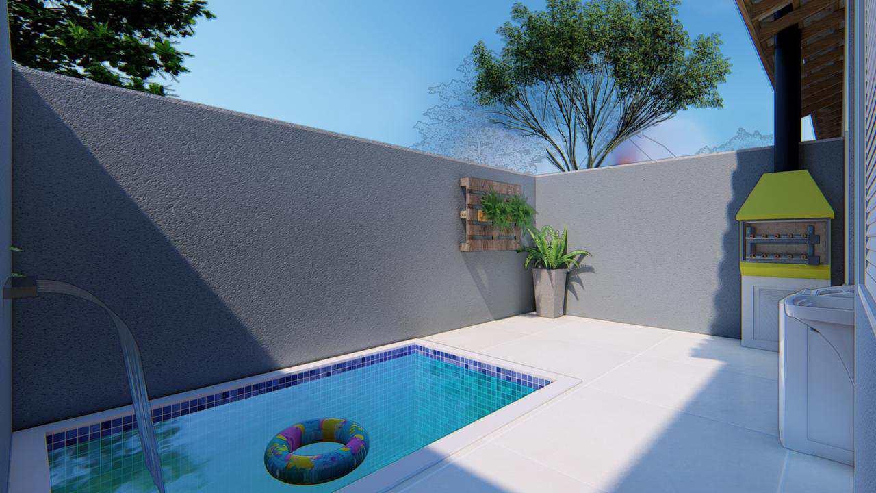 Casa de Condomínio com 2 dorms, Cibratel II, Itanhaém - R$ 179 mil, Cod: 5280