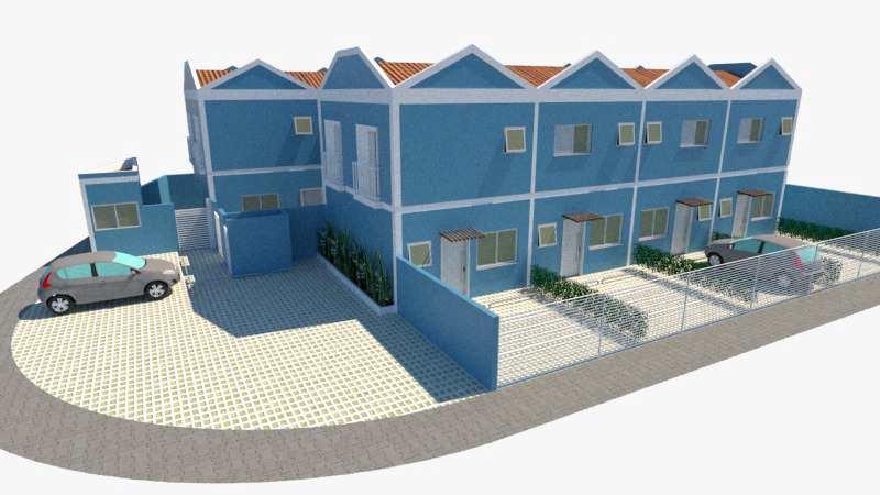Casa de Condomínio com 2 dorms, Vila Loty, Itanhaém - R$ 250 mil, Cod: 5345