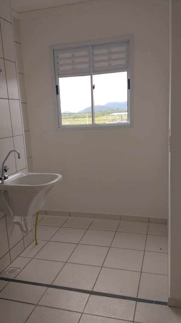 Apartamento com 2 dorms, Balneário Guapura, Itanhaém - R$ 120 mil, Cod: 5347