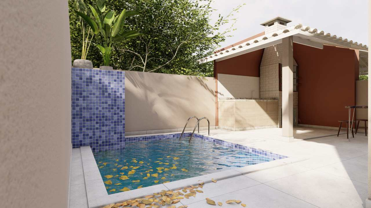 Casa com 3 dorms, Jardim Grandesp, Itanhaém - R$ 340 mil, Cod: 5548