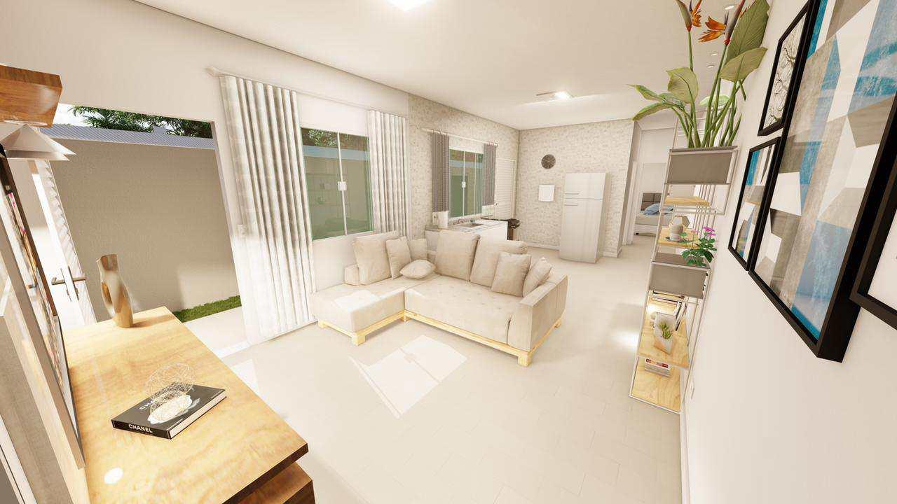 Casa com 2 dorms, Jardim Savoy, Itanhaém - R$ 200 mil, Cod: 5624