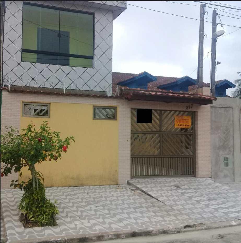 Sobrado com 2 dorms, Solemar, Praia Grande - R$ 250 mil, Cod: 286604