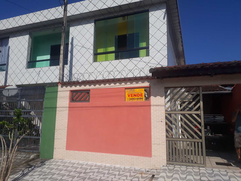 Sobrado com 2 dorms, Solemar, Praia Grande - R$ 230 mil, Cod: 286604