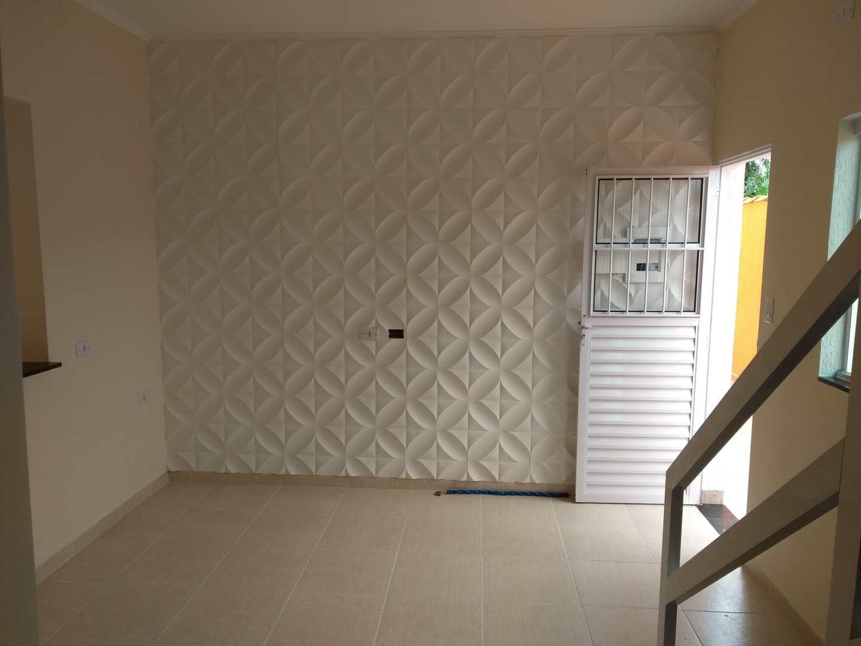 Sobrado de Condomínio com 2 dorms, Vila Atlântica, Mongaguá - R$ 169 mil, Cod: 286859