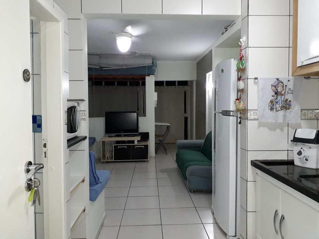 Apartamento com 1 dorm, Boqueirão, Praia Grande - R$ 165 mil, Cod: 286948