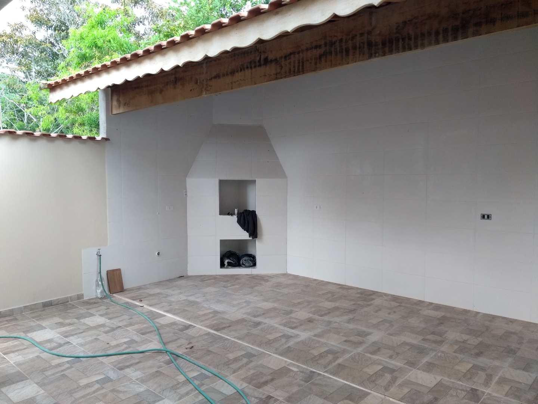 Sobrado com 2 dorms, Jardim Aguapeu, Mongaguá - R$ 320 mil, Cod: 287178