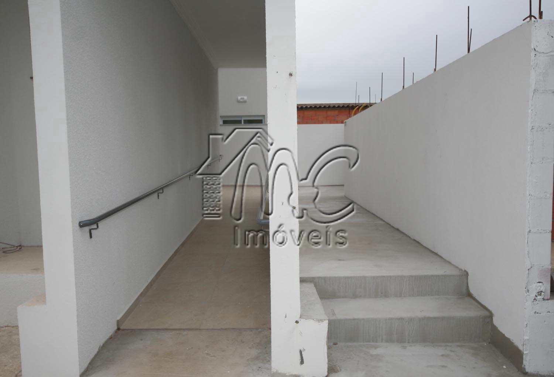 corredor e rampa de entrada