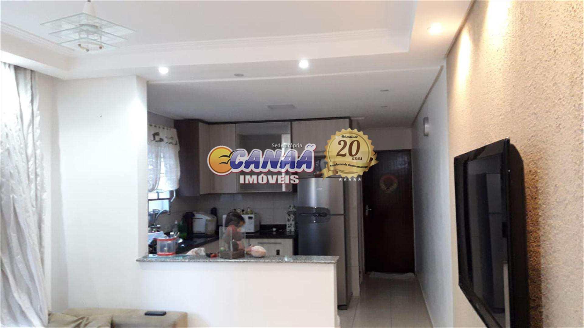 Casa com 2 dorms, Balneário Jussara, Mongaguá - R$ 350 mil, Cod: 7044