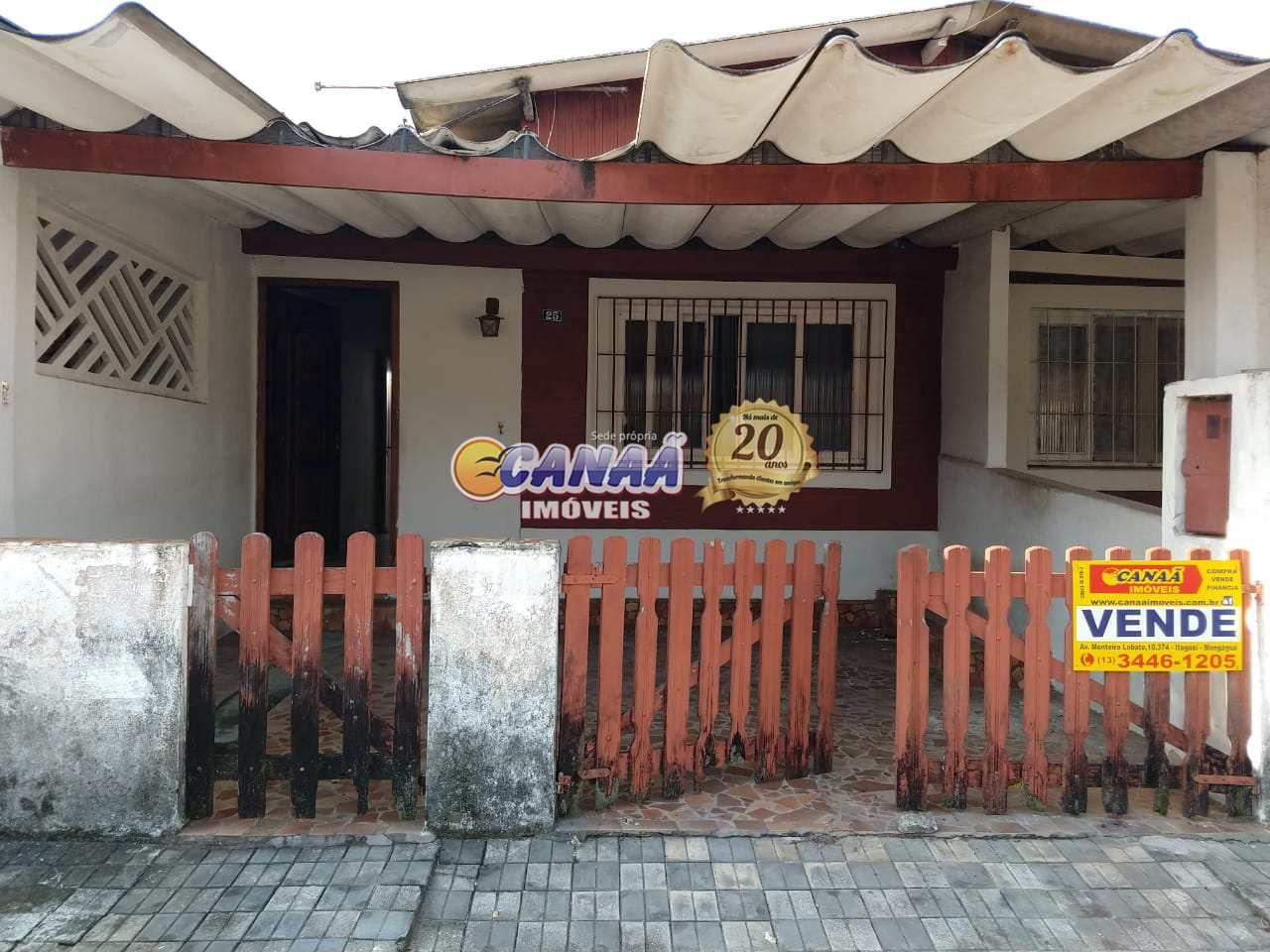 Casa com 1 dorm, Balneário Itaguai, Mongaguá - R$ 110 mil, Cod: 6986