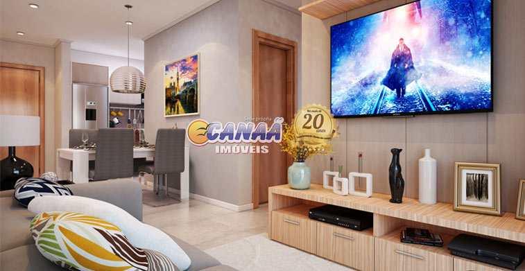 Apartamento com 2 dorms, Aviação, Praia Grande - R$ 210 mil, Cod: 6964
