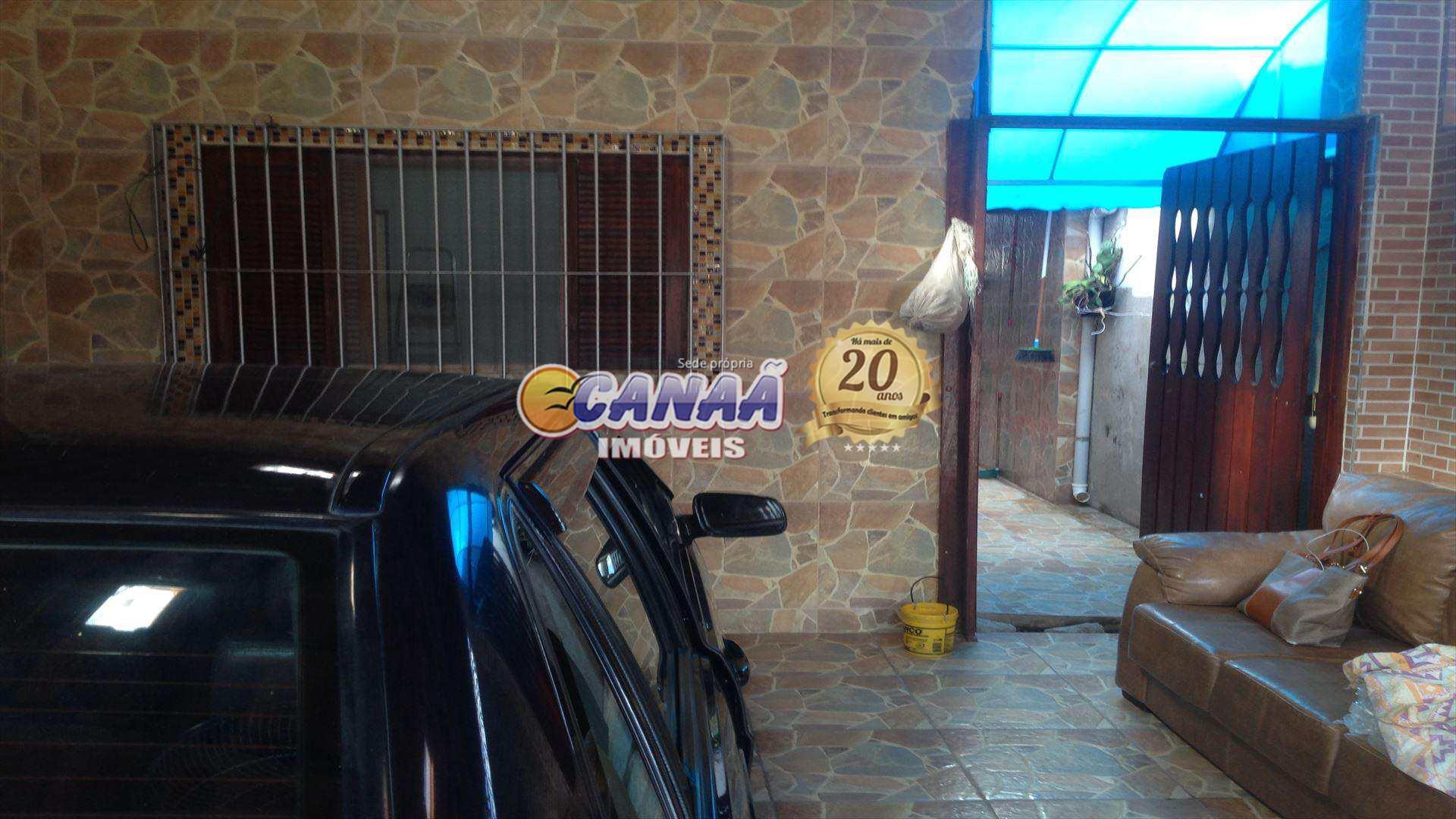 Casa com 2 dorms, Balneário Plataforma, Mongaguá - R$ 275 mil, Cod: 6851