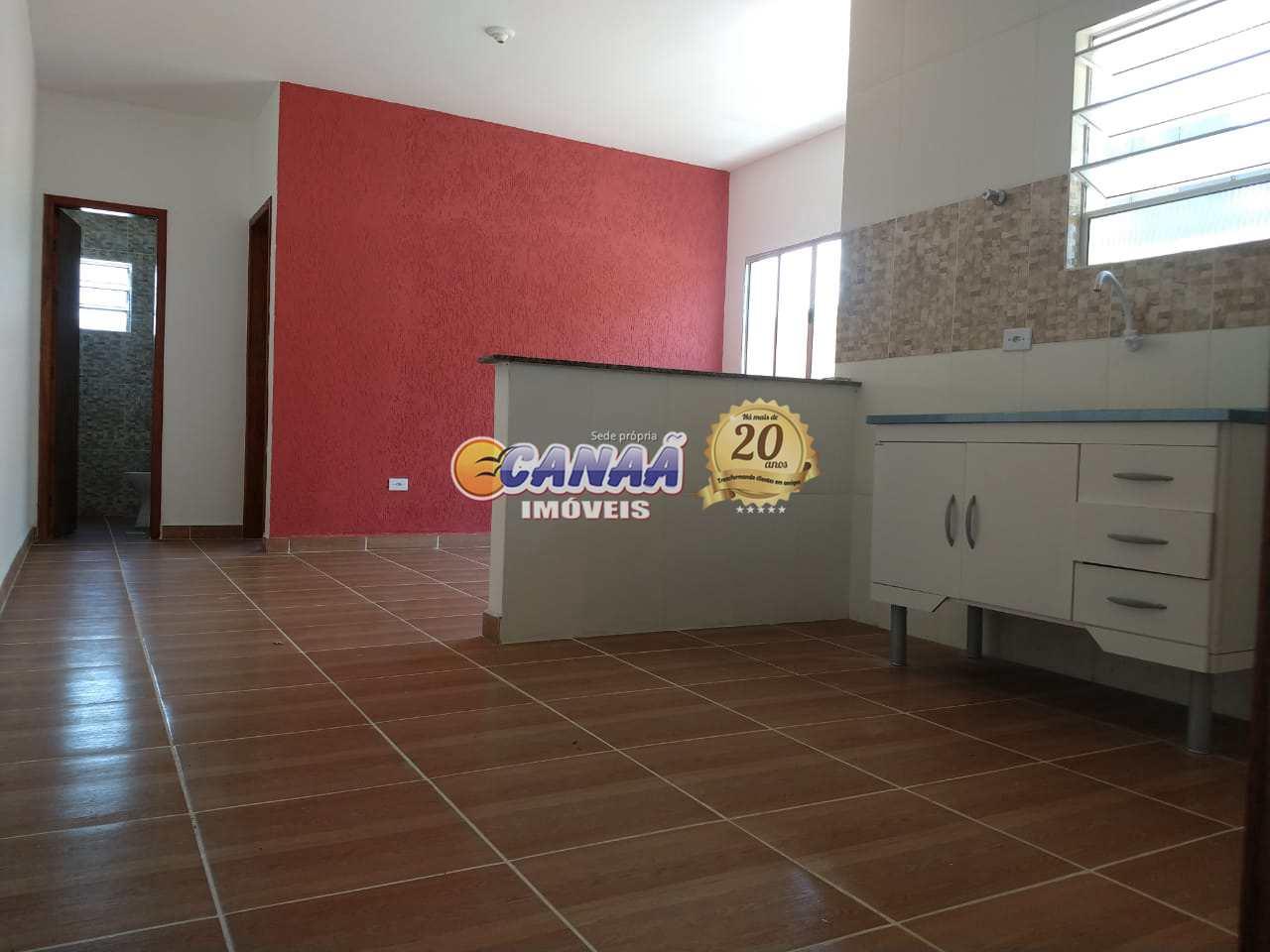 Casa com 2 dorms, Jardim Leonor, Mongaguá - R$ 159 mil, Cod: 6752