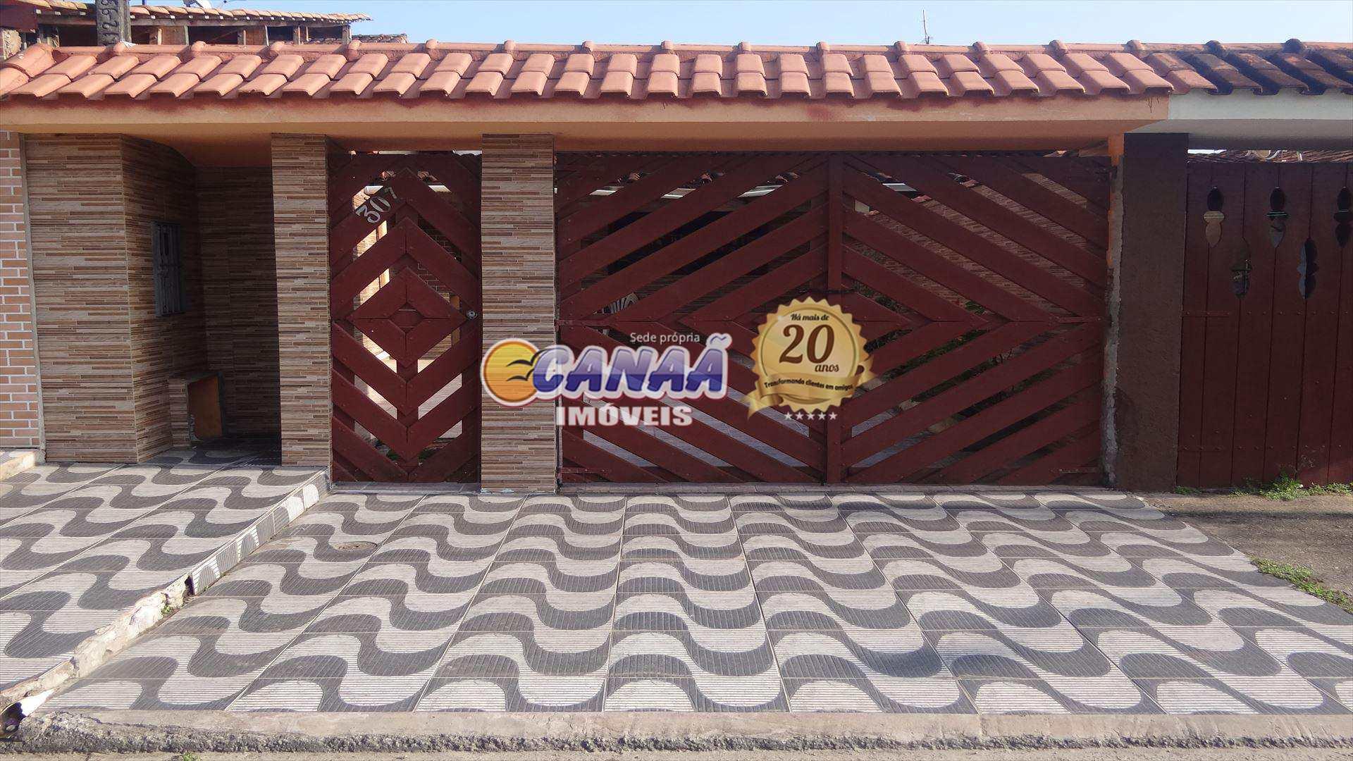Casa com 2 dorms, Balneário Itaguai, Mongaguá - R$ 200 mil, Cod: 6340