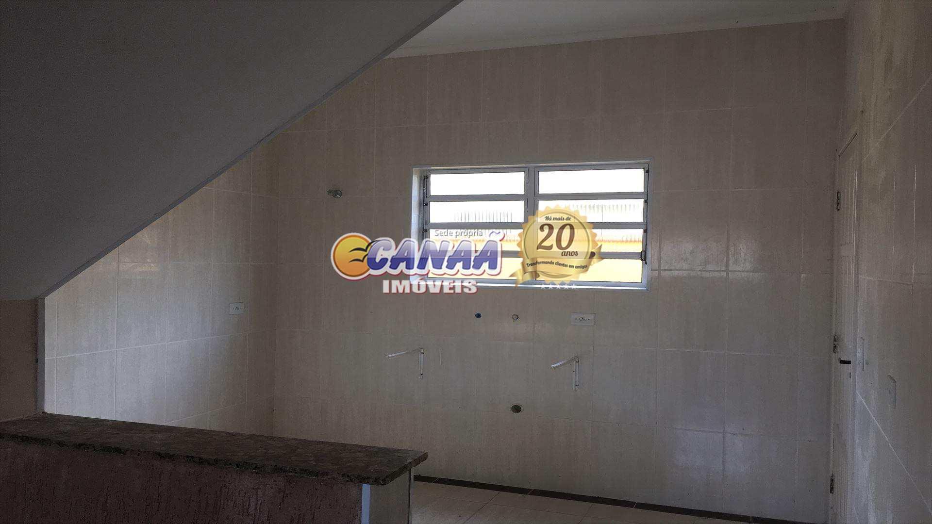 Sobrado com 2 dorms, Balneário Itaguai, Mongaguá - R$ 160 mil, Cod: 6316