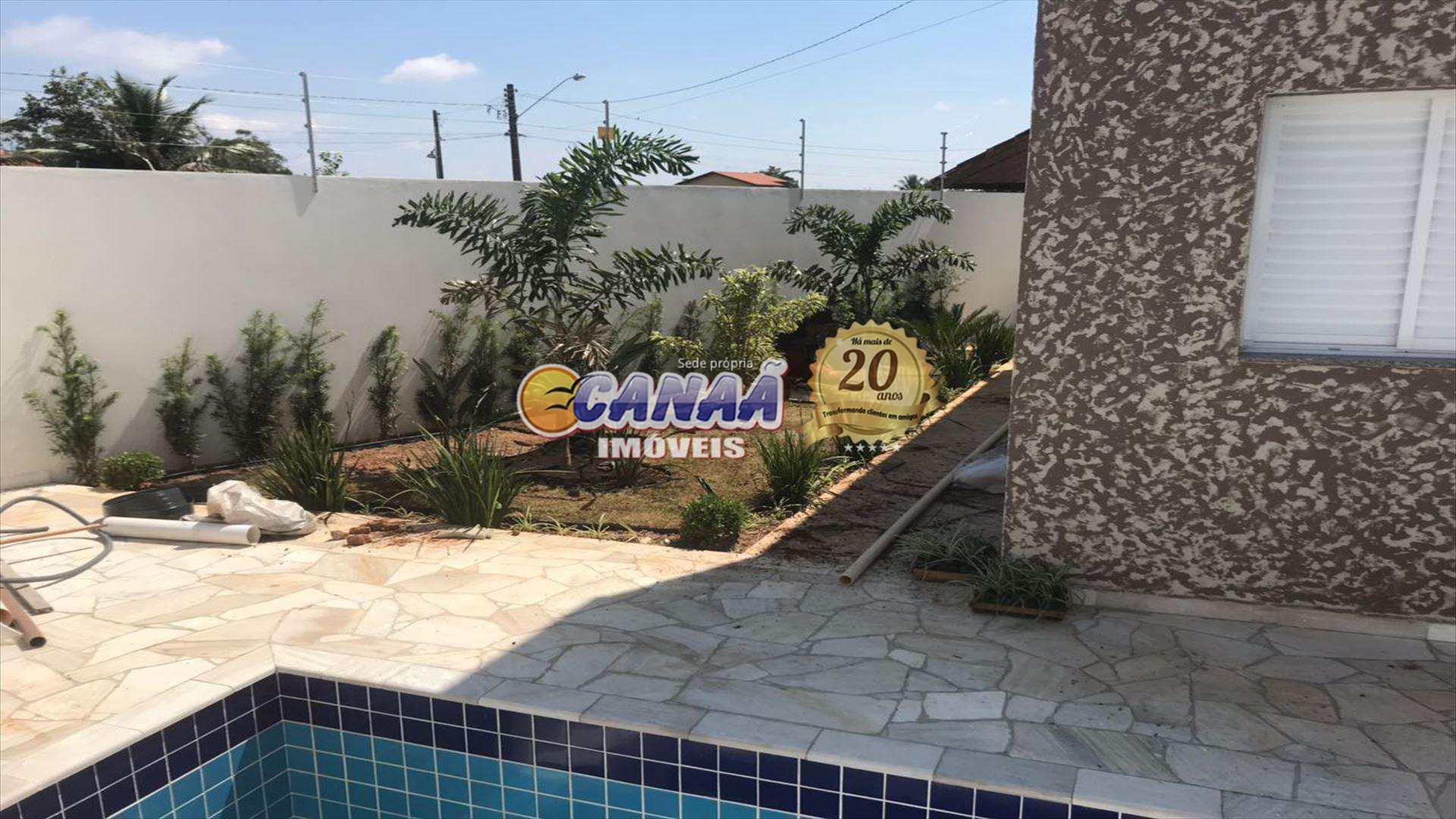 Casa com 2 dorms, Jardim Bopiranga, Itanhaém - R$ 298 mil, Cod: 6168