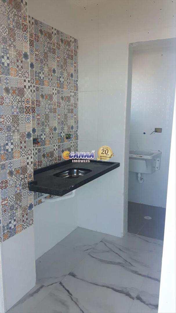 Apartamento com 1 dorm, Centro, Mongaguá - R$ 210 mil, Cod: 6166