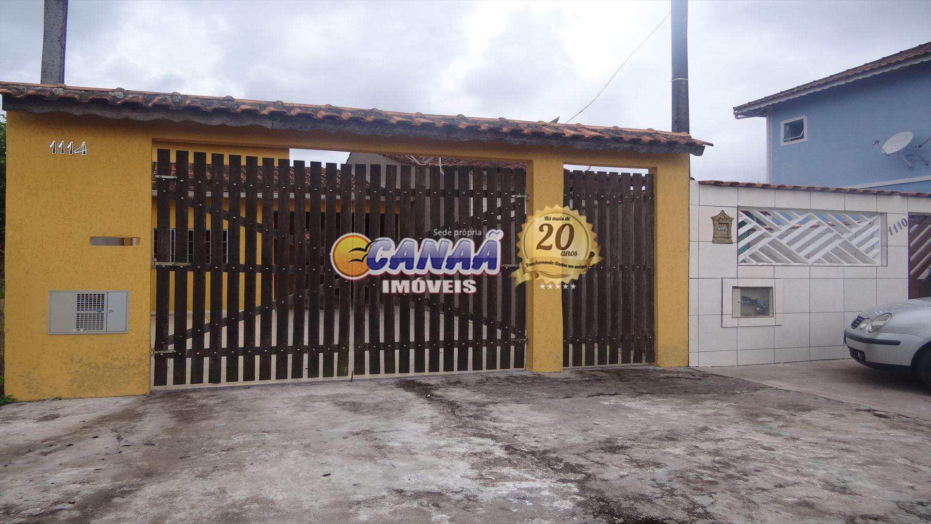 Casa com 3 dorms, Balneário Itaguai, Mongaguá - R$ 200 mil, Cod: 6155