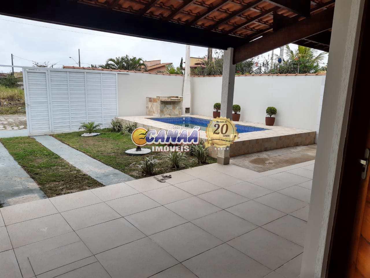 Casa com 3 dorms, Jardim Bopiranga, Itanhaém - R$ 397 mil, Cod: 5989