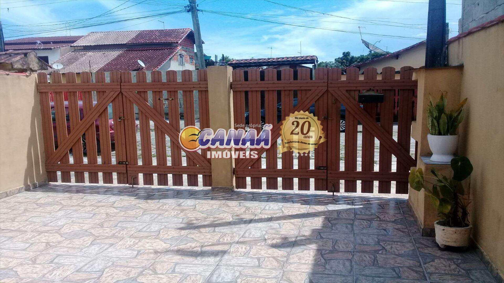 Casa com 1 dorm, Balneário Itaóca, Mongaguá - R$ 130 mil, Cod: 5992