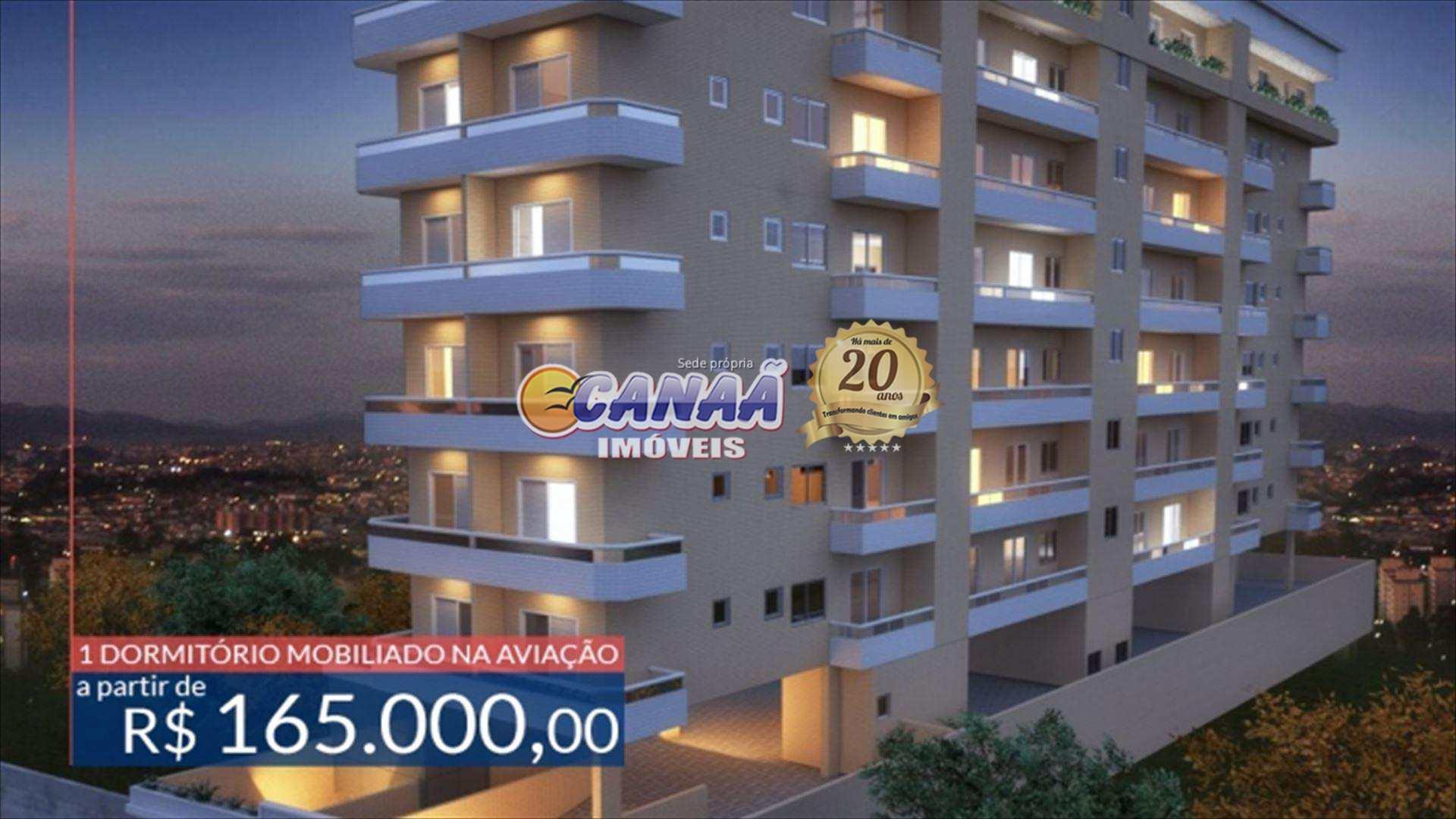Excelente apartamento com 01 dormitório em Praia Grande