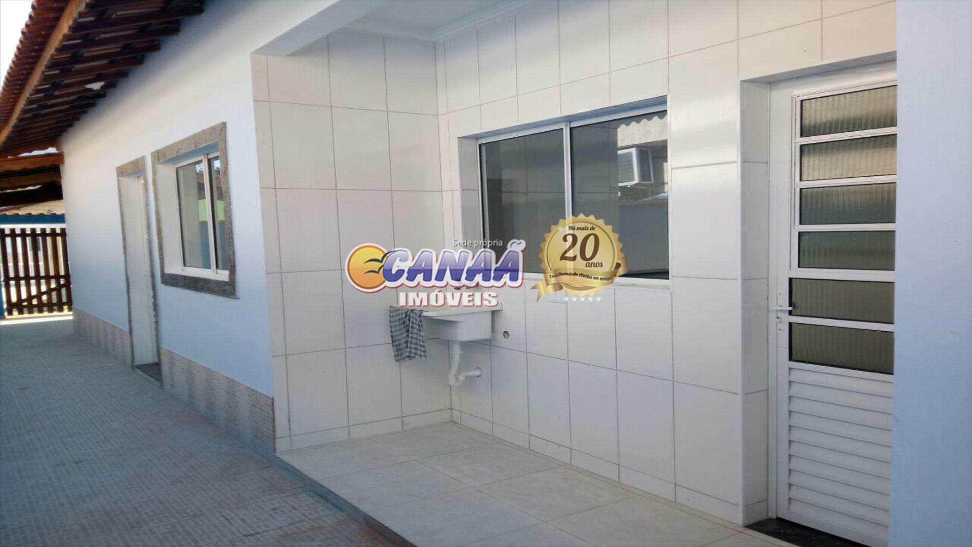 Casa com 2 dorms, Jardim Praia Grande, Mongaguá - R$ 175 mil, Cod: 5571