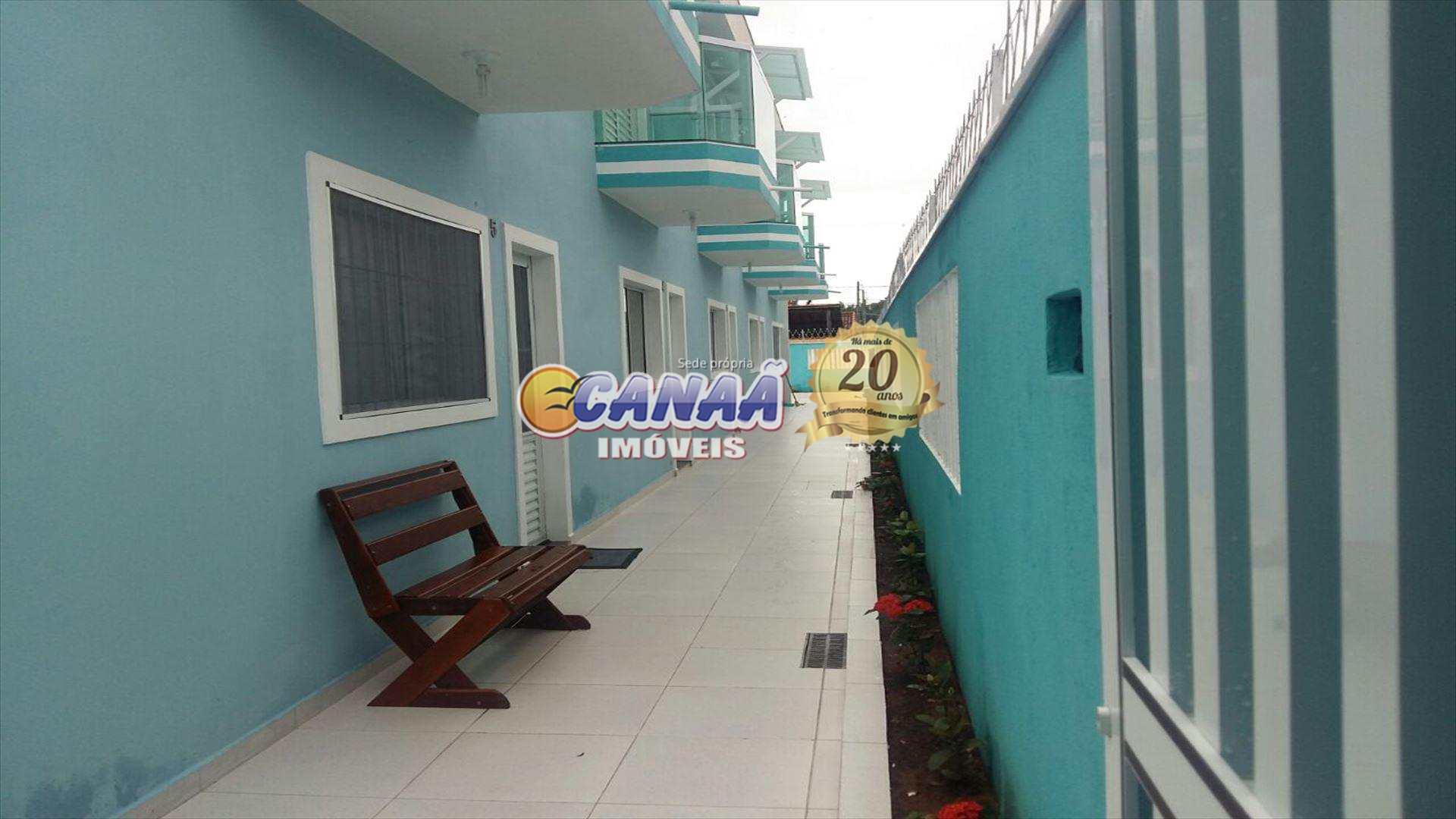 Sobrado com 2 dorms, Balneário Flórida Mirim, Mongaguá - R$ 189 mil, Cod: 5017