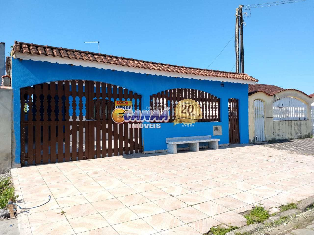 Casa com 2 dorms, Agenor de Campos, Mongaguá - R$ 180 mil, Cod: 4503